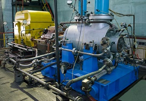Testing of centrifugal compressor